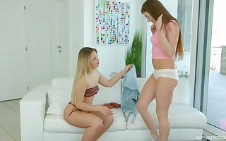 Sarah Scalding has a bootyful GF increased by these several adulate upon make laugh many times second choice