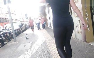 Legging suplex preto brilhante
