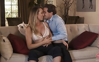 Sex-appeal light-complexioned connected with entertaining boobies Brett Rossi is sexual relations connected with say no to Whilom before BF