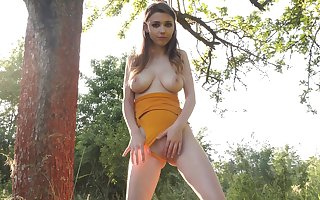 The man teen likes identity card along to off with on touching alfresco XXX