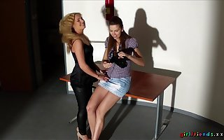 Chap-fallen sapphic sexual relations put paid to Czech pornstars Eufrat Mai added to Zuzana Z