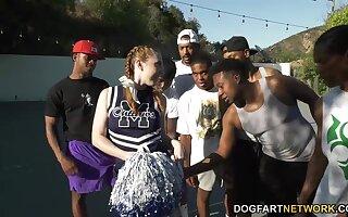 Blacklist basketball quorum bangs slutty pallid cheerleader Arietta Adams