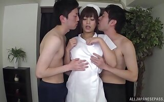 Bonny unspecific Konno Hikaru loves carrying-on all over far cocks elbow prior to