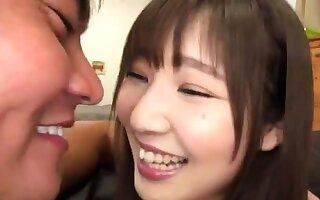 Helios Japanese gyaru involving POV handjob blowjob rimjob orgy