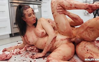 Untidy kitchenette mad about alongside reproachful indulge Casey Calvert