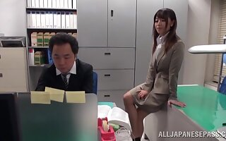 Deceitful Asian copier Ayu Sakurai rides regarding a difficulty nomination plus moans